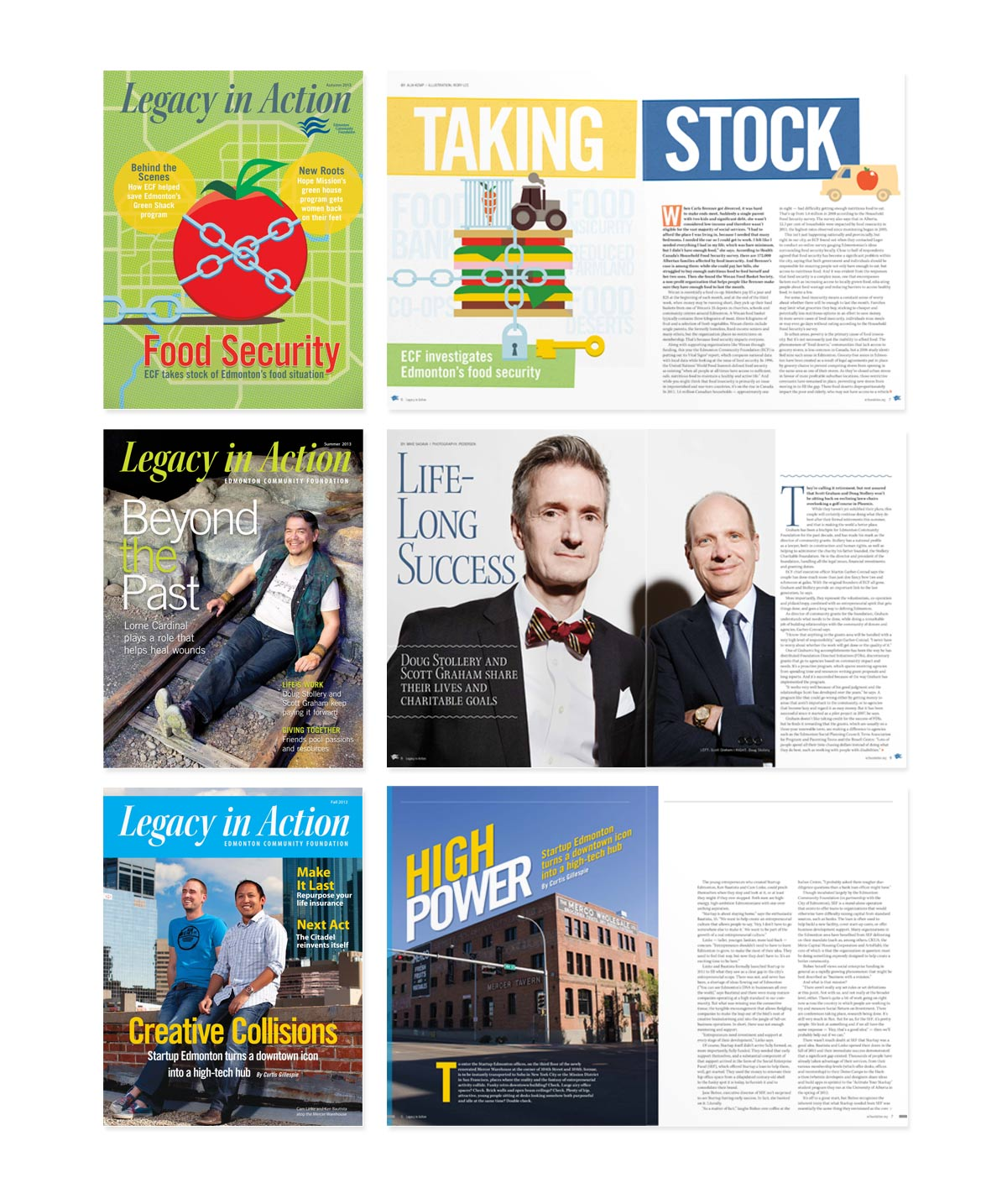 Magazine design Edmonton